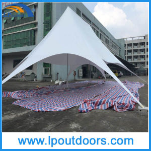 14X19m Outdoor Double Peak White PVC Star Shade Canopy Tent pictures & photos