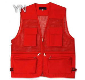 Red Safety Vest-Y9871 pictures & photos