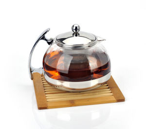 750ml and 1200ml Glass Teapot Water Kettle with Infuser