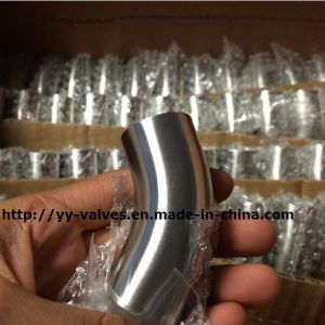 DIN Long Elbow 45 Degree Sanitary Stainless Steel pictures & photos