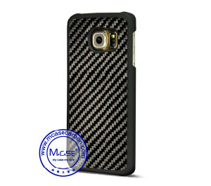 China Supplier Carbon Fiber PC Plastics Mobile Phone Case for Samsung Galaxy S6 Edge pictures & photos