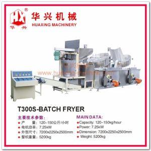 T300s-Batch Fryer (Frying Peanut/Bean/Nut/Snack Machine) pictures & photos