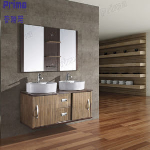 Modern Bathroom Furniture European Style Wooden Bathroom Cabinet pictures & photos