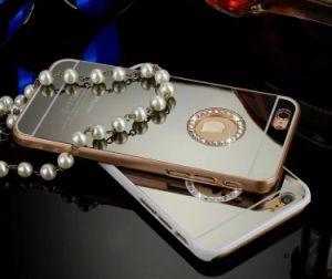 OEM Custom Wholesale Lip Makeup Mirror Case for iPhone 6 (Spc350)
