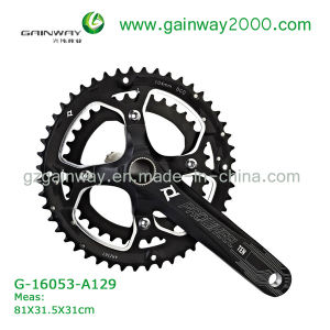 Gw-16053-A129 Best Selling Strong Quality Bicycle Accessories of Chainwheel&Crank for MTB Bike