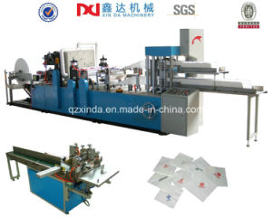 Double Layers Output Napkin Paper Folding Machine Np-7000k pictures & photos
