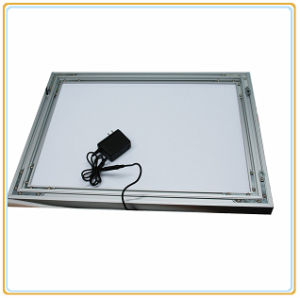 Tension Fabric LED Light Panel Display with Standing Feet pictures & photos