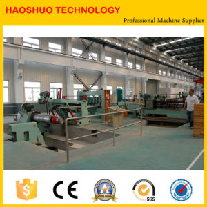 Steel Sheet Coil Slitting Machine and Metal Sheet Cutting Machine pictures & photos