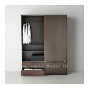 New Design Sliding Wardrobe with 4 Drawers (HF-IK030) pictures & photos