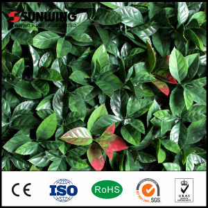Hot Sale Artificial Plants Lattice Walls with Fireproof Test pictures & photos