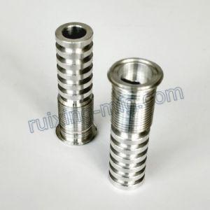 CNC Turning Aluminum Lamp Base for LED Lighting pictures & photos
