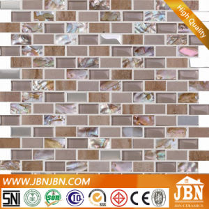 Pearl Shell Mosaic and Glass, Stone for Wall Border (M853001) pictures & photos