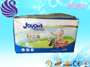 Breathable, Cloth-Like, and Magic Tape Baby Diaper with High Quality pictures & photos