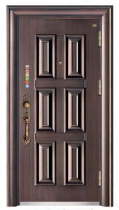 Steel Door Security Door Popular to Sudan Iron Door China Supplier (FD-909) pictures & photos