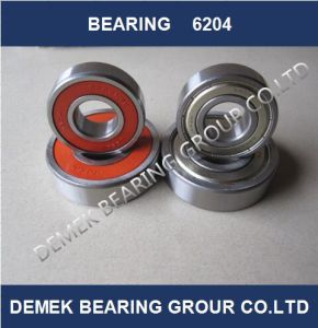 NACHI Deep Groove Ball Bearing 6204 Made in Japan pictures & photos