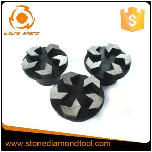 5 Arrow Shape Segments Floor Finishing Tools Metal Grinding Disc pictures & photos