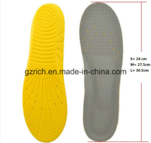 Memory Foam Breathable Damping Sports Insoles pictures & photos