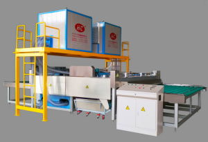 High-Speed Glass Washing and Drying Machine