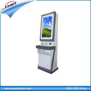 Customized Touch Screen Bill Payment with Card Reader / Dispenser Kiosk pictures & photos