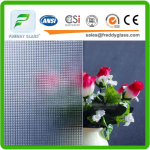 4mm Clear Nashiji Patterned Glass for Decorative Glass pictures & photos