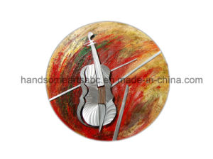 Circle Hanging Aluminum Relievo, Metal Wall Art Decor - Passion Red pictures & photos