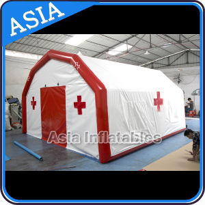 Cheap Portable Inflatable Emergency Medical Tent / Mobile First Aid Inflatable Emergency Tent for Refugee pictures & photos