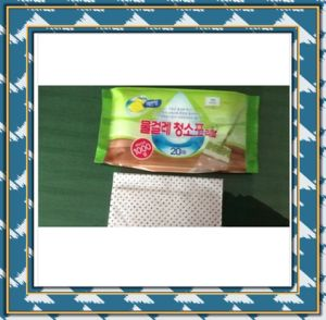 Disposable Quick Sweeper Cleaning Wipes Together with Mop pictures & photos
