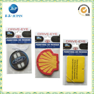 Custom Logo Design Paper Car Air Fresher (JP-AR012) pictures & photos