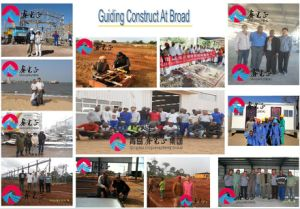 Building Materials/Light Steel Structure Prefabricated Carport, Warehouse, Workshop (pH-58) pictures & photos