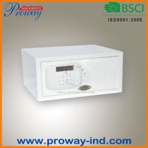 Electronic Lock Hotel Jewelry Safe with LCD Display pictures & photos