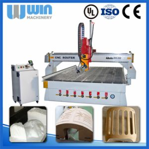 High-Speed 2000X3000mm 4 Axis CNC Router 2030 pictures & photos