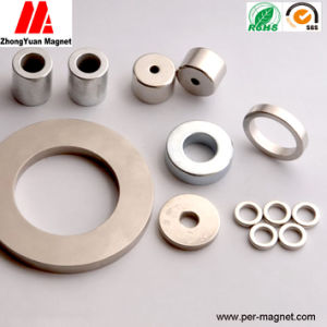 Sintering Ring NdFeB Permanent Magnet of Various Specificains