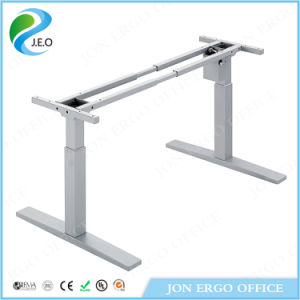 Sit and Stand Height Adjustable Office Electric Table (JN-SD520P) pictures & photos