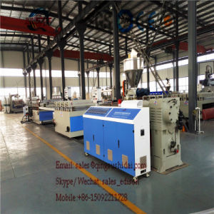 PVC Decoration Board Machine Plate Production Line Board Extrusion Machine PVC Extrusion Line Recycle Marble Waste Use for Making Sheet pictures & photos