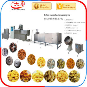 Puffed Corn Snacks Food Extruder Machine pictures & photos