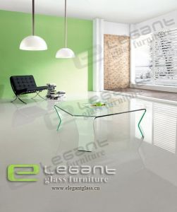 Square Glass Tea Table -CB126 pictures & photos