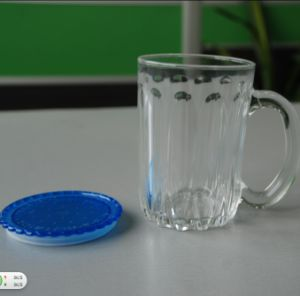 Glass Cup with Color Lid (AYA4030)