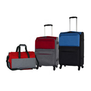 Double Color Joint Suitcase New Design pictures & photos