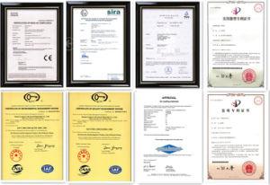 50-1000kg/Hr Powder Coating Air Cooling Belt Lingyu Brand pictures & photos