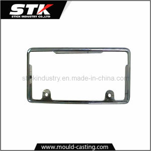 Car/Auto License Plate Frame by Zinc Alloy Die Casting pictures & photos