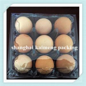 9 Hole New Transparent Plastic Pet/PVC Egg Tray pictures & photos