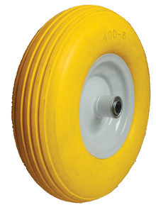 PU Wheels for Wheel Barrow Hand Trolley Tool Cart PU1310