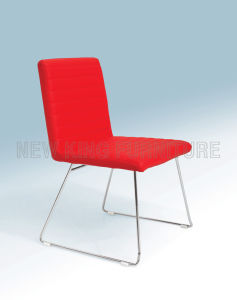 Modern Stackable PU Leather Dining Chair (NK-DC055)
