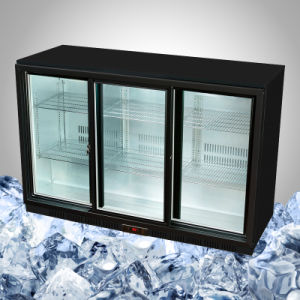 Back Bar Refrigerator Sliding Door Refrigeration pictures & photos