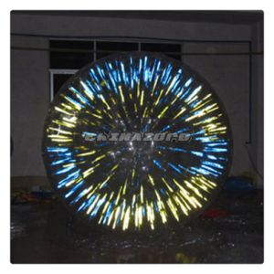 New Arrival PVC&TPU Glow Zorbing Ball in Good Price