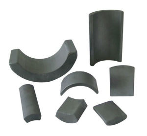 China Magnet Expert Strong Ferrite Arc Magnet pictures & photos