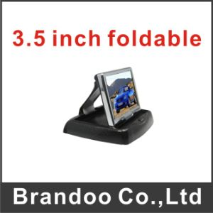 Car Monitor, 3.5inch Screen, Foldable Type, Taxi LCD Monitor pictures & photos