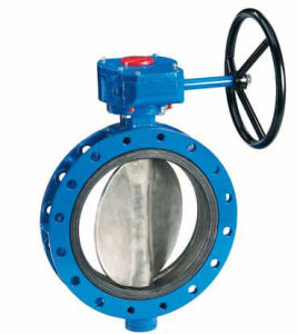 API Casting Double-Flange Butterfly Valve