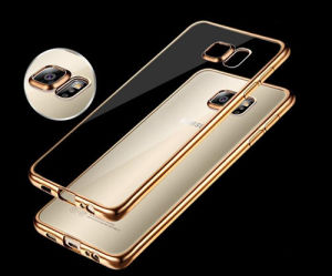 Electroplating Mobile Phone TPU Case for Samsung S6 Edge pictures & photos