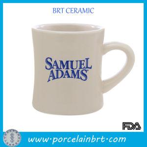 Hand Made Custom Logo Ceramic Diner Coffee Mug pictures & photos